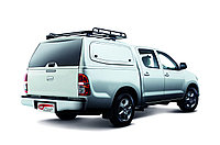 Кунг Sammitr S PLUS V2 Toyota Hilux Revo 2015- (распашные боковые окна), фото 1