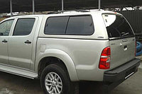 Кунг CARRYBOY S2 Toyota Hilux, крашенный в цвет кузова., фото 1