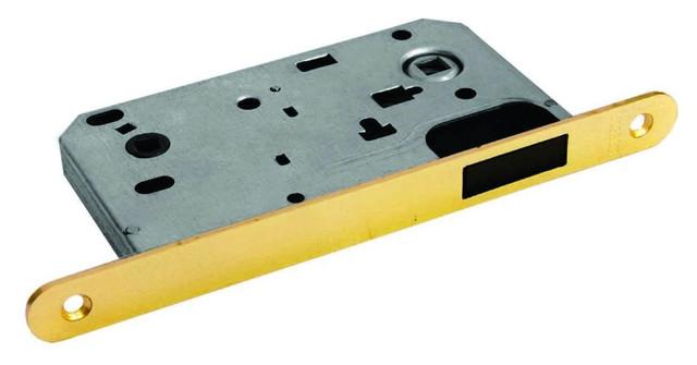 Защелка сантехническая магнитная на 90 миллиметров в металлическом корпусе Morelli MM 2090 PG