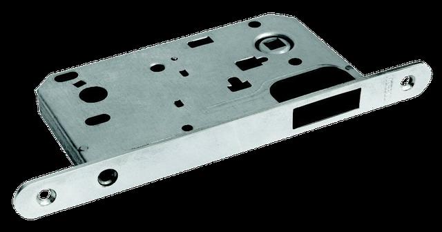 Защелка сантехническая магнитная на 90 миллиметров в металлическом корпусе Morelli MM 2090 SN