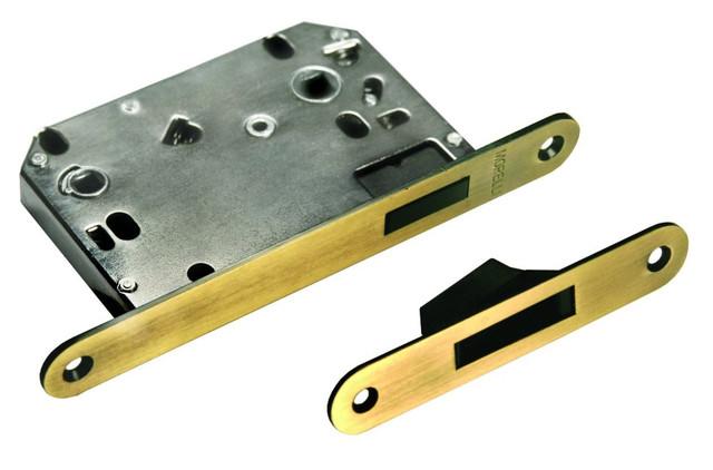 Защелка сантехническая магнитная на 70 миллиметров в металлическом корпусе Morelli 2070M PG