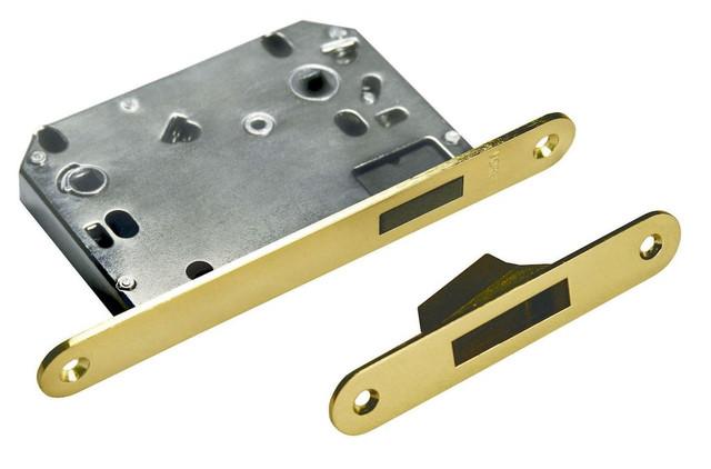 Защелка сантехническая магнитная на 70 миллиметров в металлическом корпусе Morelli 2070M AB