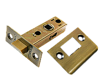 Защелка межкомнатная Morelli LP6-45 AB (цвет: бронза)