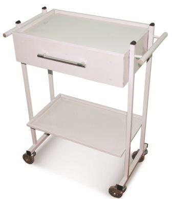 Столик медицинский на колесиках с ящиком СМИ 001
