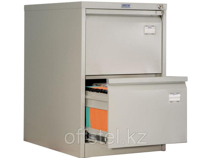 Металлический картотечный шкаф (картотека) ПРАКТИК AFC-02