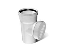 Ревизия ПВХ канализационная 3.2 mm д100