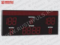 Табло для баскетбола Импульс-735-D35x10-D27x3-S20x112