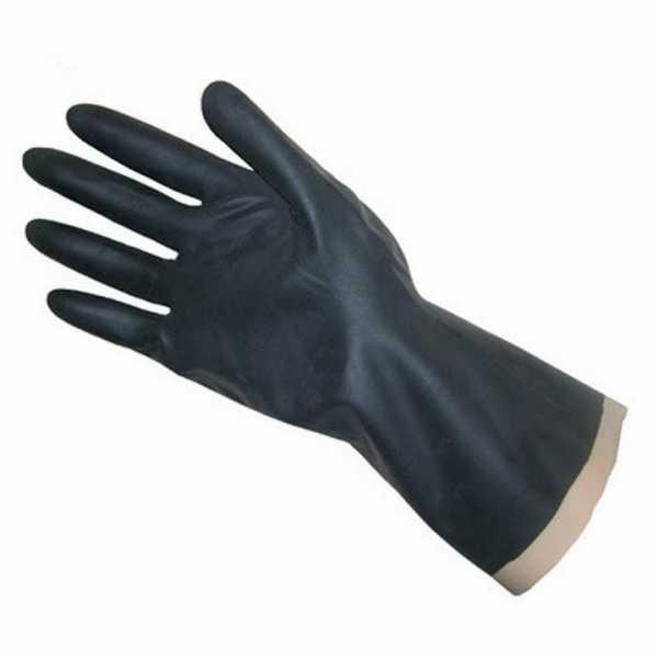 Перчатки резиновые для защиты от воздействия различных сред