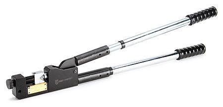 Пресс механический универсальный для клиновидной опрессовки наконечников ПМУ-240 ™КВТ