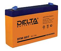 АККУМУЛЯТОР DELTA DTM 607 (151x34x100) 6V, применим для детских электромобилей