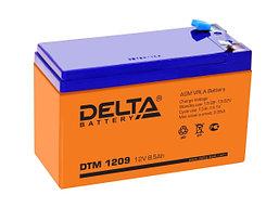 АККУМУЛЯТОР DELTA DTM 1209 (151x65x100) 12V, применим для детских электромобилей