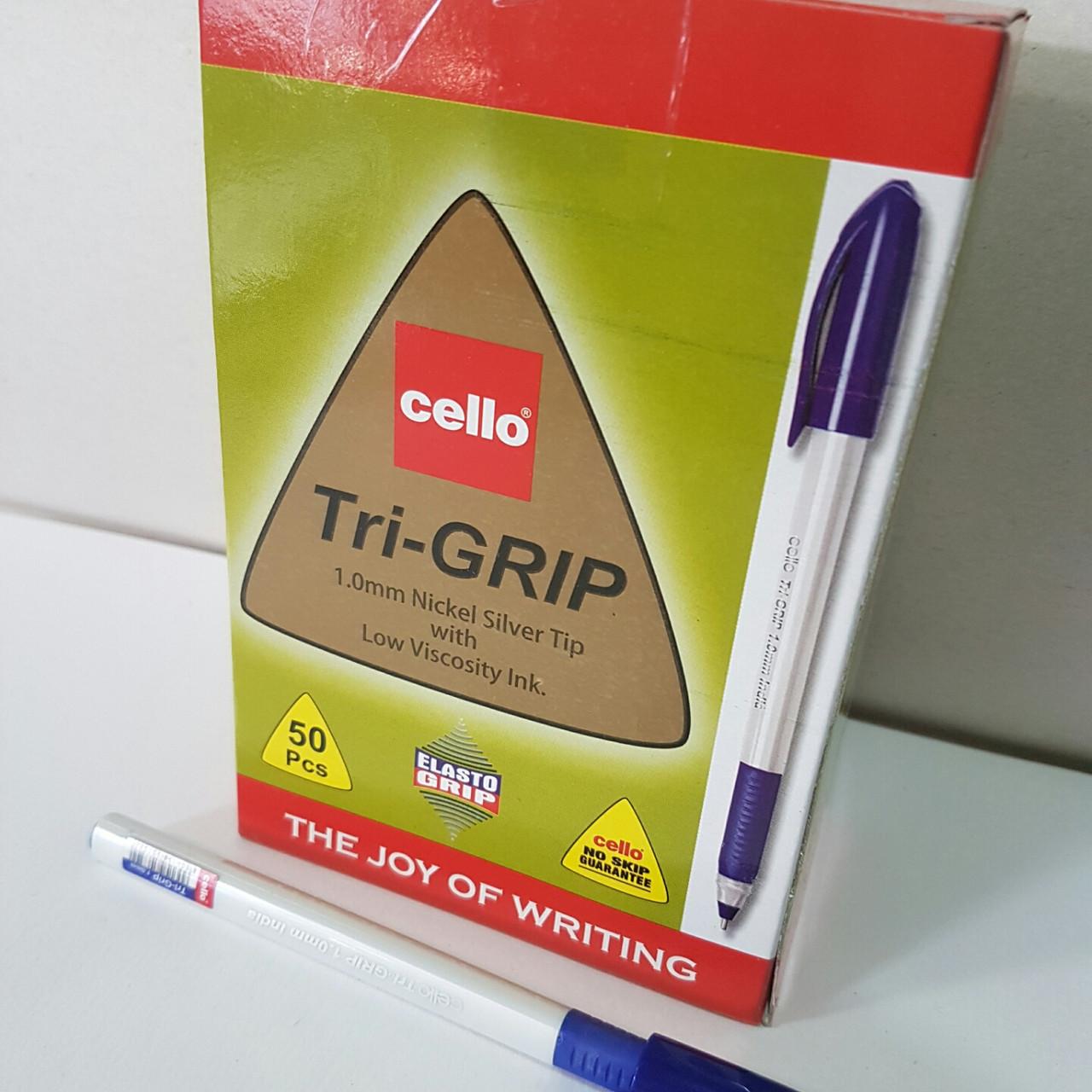 Масляные ручки Cello tri-grip