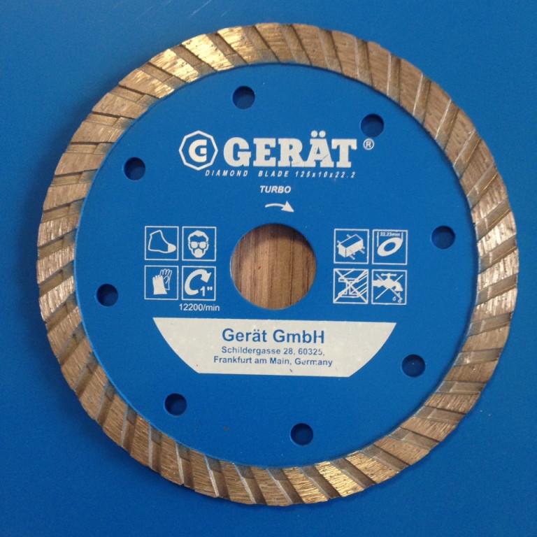"Турбо диски ""GERAT""  180 мм  Professional 10мм, посадочное 25,4/22,23"