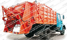 Запчасти для мусоровозов с задней загрузкой серии (ОАО «Мценский завод «Коммаш»)