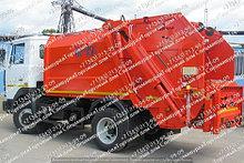 Комплект гидроцилиндров на КАМАЗ, задняя загрузка НПО КОММАШ (мусоровозы БМ 53229, БМ 551603)