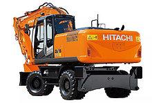 Запчасти для колесных экскаваторов Hitachi