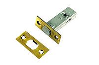 Дверная задвижка врезная Morelli B6-45 PG (цвет: золото)