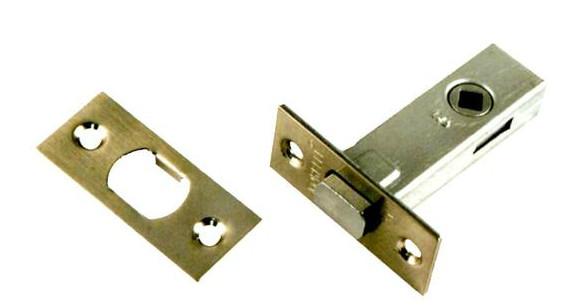 Дверная задвижка врезная Morelli B6-45 AB