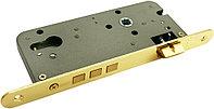 Дверной замок с 3 ригелями без цилиндра Morelli OL03 PG (цвет: золото)