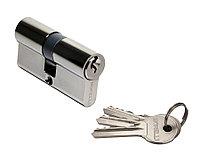 Ключевой цилиндр Morelli 60C BN (60 мм, цвет: чёрный никель), фото 1