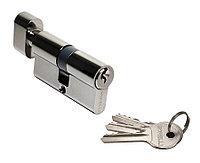 Ключевой цилиндр Morelli 60CK BN (60 мм, цвет: чёрный никель), фото 1