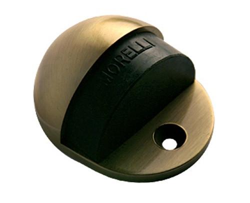 Дверной ограничитель Morelli DS1 AB. Предназначен для ограничения хода двери. Сохраняет от повреждений дверь и прилегающее к ней покрытие стены.
