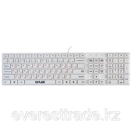 Клавиатура проводная Delux DLK-1000UW USB, фото 2