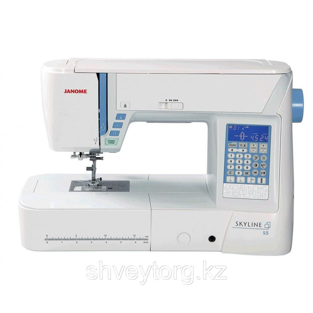 Компьютеризированная швейная машина Janome Skyline s 5
