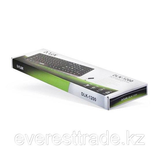 Клавиатура проводная Delux DLK-1200UB