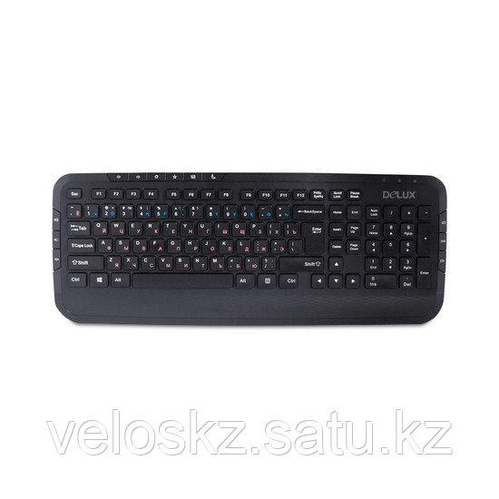 Клавиатура проводная Delux DLK-160UB
