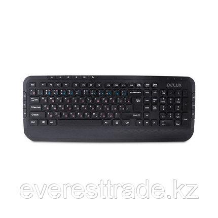 Клавиатура проводная Delux DLK-160UB, фото 2