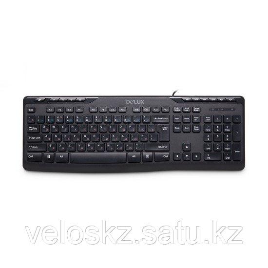 Клавиатура проводная Delux DLK-06UB