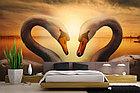 Фотообои Лебеди на закате, фото 2