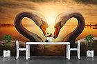 Фотообои Лебеди на закате, фото 4