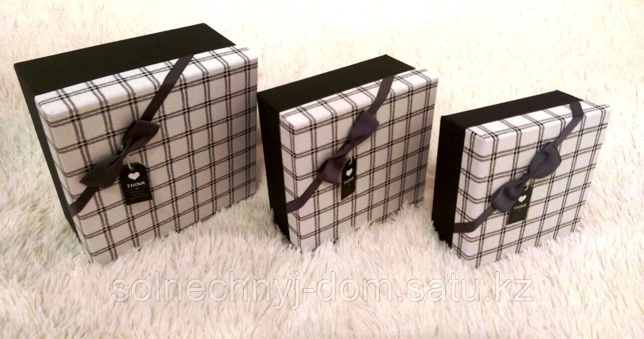 """Набор подарочных коробок """"THINK""""№1"""