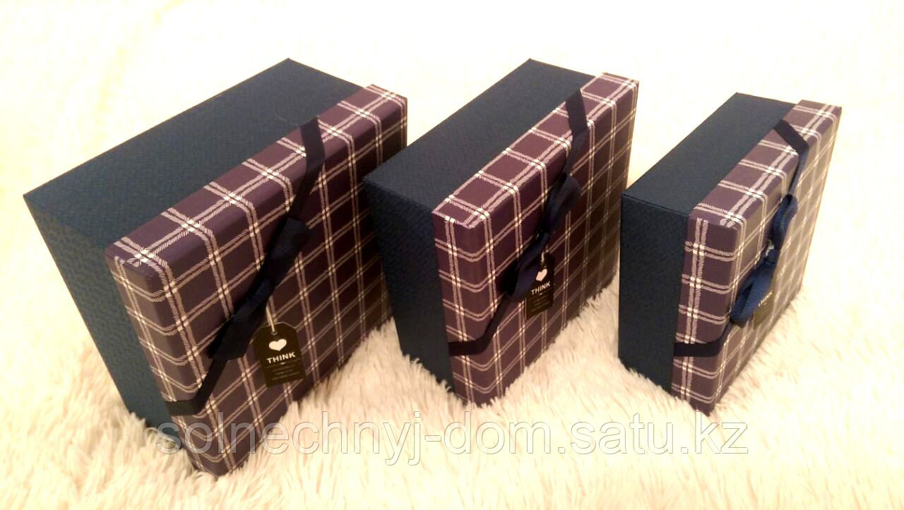 """Набор подарочных коробок """"THINK""""№2"""