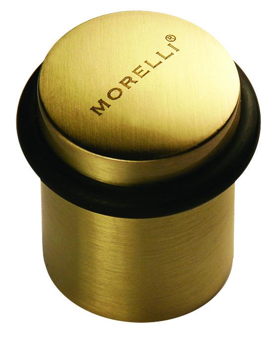 Дверной ограничитель Morelli DS3 SG. Предназначен для ограничения хода двери. Сохраняет от повреждений дверь и прилегающее к ней покрытие стены.