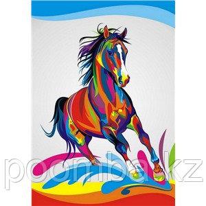 """Картина по номерам""""Радужный конь""""30*40"""