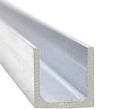 Нижний направляющий профиль длиной 1 метра для раздвижных дверей Morelli TRACK-B 10x10x10 1M