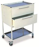 Столик с ящиками и двумя медицинскими лоткамиСМИ 023
