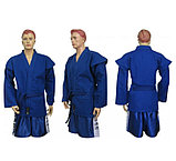 Кимоно самбо, синее, фото 7