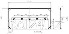 Комплект лопастей для затирочн. маш. GROST - 150х300 мм (4шт.)