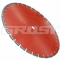Диск по бетону для швонарезчика D500 мм (500*25,4*4.2*10) GROST Диск по бетону для швонарезчика D500 мм (500*2