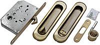 Комплект для раздвижных дверей Morelli MHS150 WC AB (цвет: бронза)