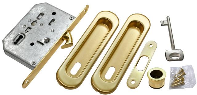 Комплект для раздвижных дверей Morelli MHS150 L SG