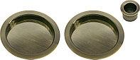 Пальчиковая ручка для раздвижных дверей Morelli MHS-1 AB (цвет: бронза)