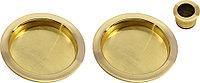 Пальчиковая ручка для раздвижных дверей Morelli MHS-1 SG (цвет: матовое золото)
