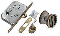 Комплект для раздвижных дверей Morelli MHS-1 WC AB (цвет: бронза)