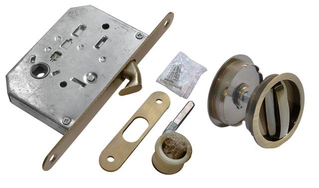 Комплект для раздвижных дверей Morelli MHS-1 WC AB