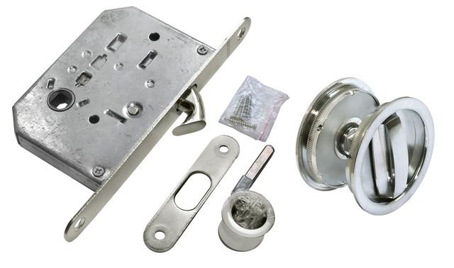 Комплект для раздвижных дверей Morelli MHS-1 WC SC